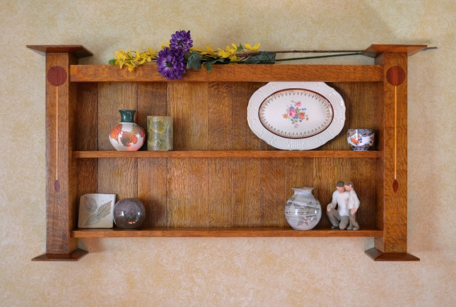 Mission shelf
