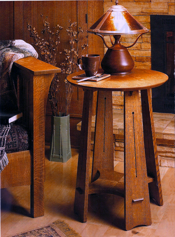 Roundtop Craftsman Table