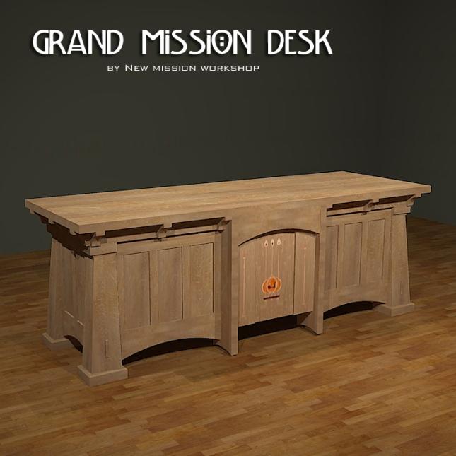 Grand Mission Desk