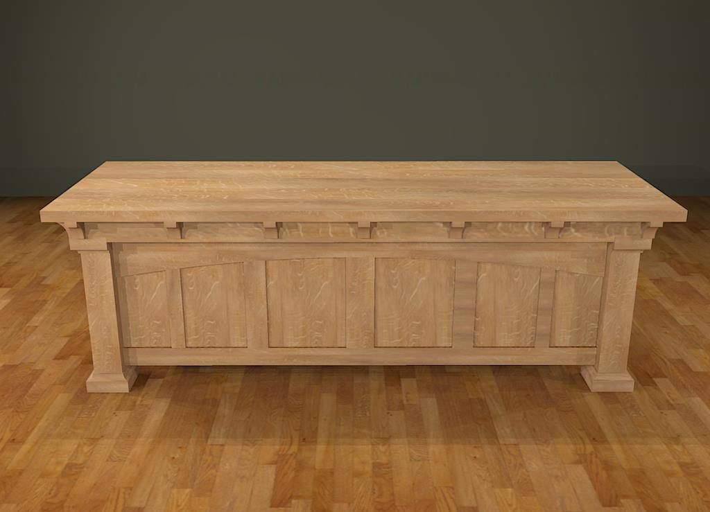 Furniture new mission workshop for Craftsman style desk plans