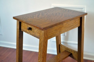 Lost Stickley Table Close